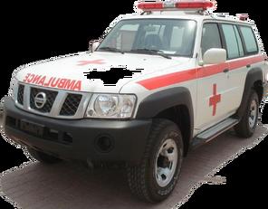 новая машина скорой помощи NISSAN Patrol 4.0 XE AT