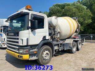 автобетоносмеситель SCANIA 114 360 - 6x2 - 9m3 - Manual - Full steel Truck