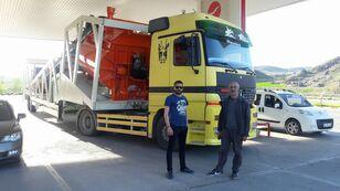 новый бетонный завод Plusmix PLUSMİX ST120-TWN Double Chassis -:120m³/hour  Mobile Concrete P