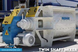 новый бетононасос стационарный PROMAX 2 m3 /3 m3 TWIN SHAFT MIXER