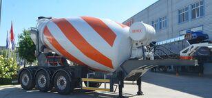 новый полуприцеп бетоносмеситель SEMIX Concrete Mixer